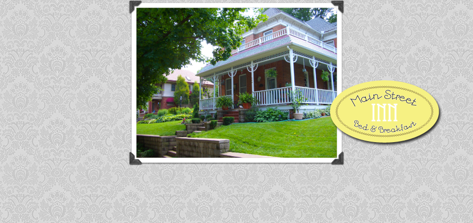 Main Street Inn Bed & Breakfast | Front Porch Living at its Finest